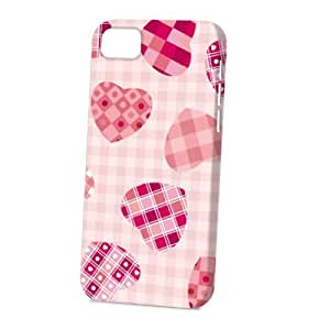 Case Fun For SamSung Galaxy S4 Case CoverVogue Version - 3D Full Wrap - Patchwork Hearts