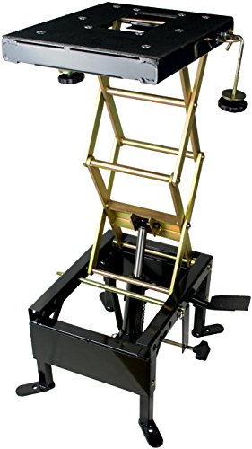 350 lb Hydraulic Scissor Lift Motorcycle MX Cycle Dirt Bike ATV Dirtbike Floor Jack Center Stand