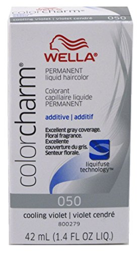 Liquid Charm Color (Wella Color Charm Liquid #050 Cooling Violet (42ml) (2 Pack))