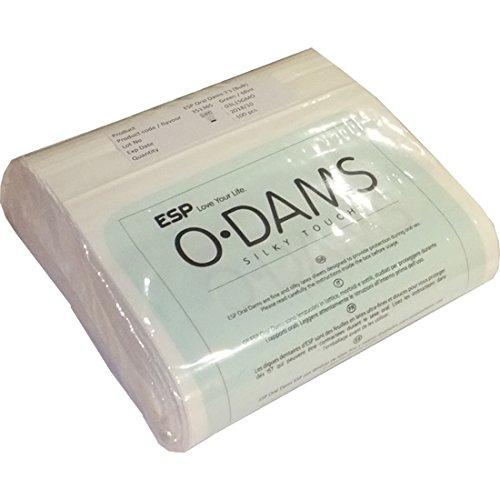 ESP Oral Dams «Mint» - 100 Latex-Schutztücher