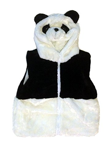 [Fashion Animals Vest Hoody for Kids - Costume - Pretend Play (Medium, Panda)] (Country Girl Costumes For Kids)