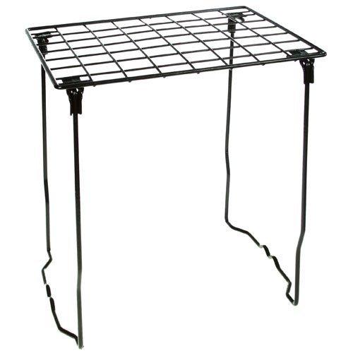 Locker Lounge Stackable Locker Shelf (Black) by Locker Lounge