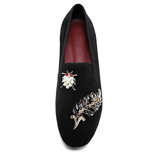 Leder Schuhe Schafe Und Außerhalb Strass Der Innerhalb Perle Gesamten Loafers Schaffell Flache Casual Schuhe I0qn8