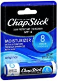ChapStick Skin Protectant Sunscreen SPF 12 Moisturizer Original - 24 ct, Pack of 3