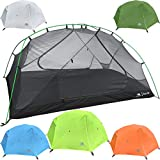 Cheap Hyke & Byke 2 Person Backpacking Tent Zion 2P 3 Season Tent, Two Person Lightweight Design for Backpacking, Bike Packing, Thru Hiking, and Camping (Lime Green)