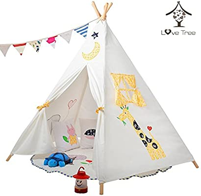 promo code afec5 e87ee LoveTree? Children India Teepee-Embroidery Elephant ...