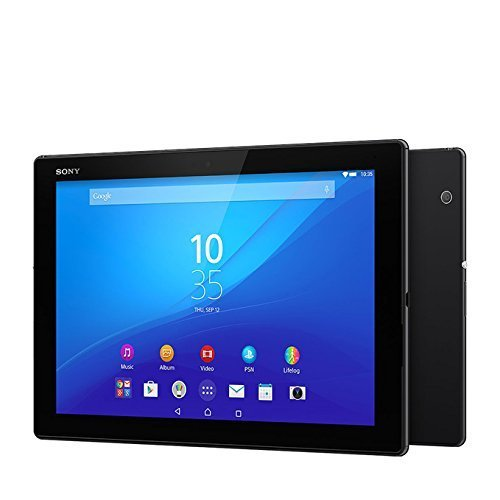 Sony Xperia Z4 Tablet SGP771 32GB 10.1-Inch Wi-Fi + LTE Factory Unlocked Tablet (Black) - International Stock - No-Warranty
