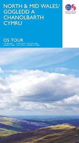 North & Mid Wales (OS Tour10) 1:175K (OS Tour Map)
