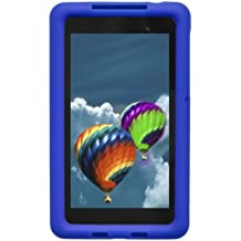 Bobj Rugged Case for Nexus 7 FHD 2013 Model Tablet - BobjGear Custom Fit - Patented Venting - Sound Amplification - BobjBounces Kid Friendly (Not for 1st generation 2012 Nexus 7) (Batfish Blue)