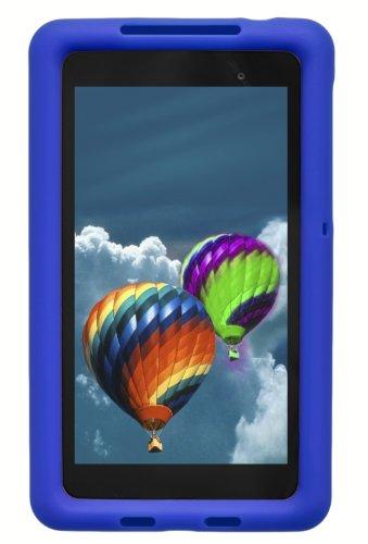 Bobj Rugged Case for Nexus 7 FHD 2013 Model Tablet - BobjGear Custom Fit - Patented Venting - Sound Amplification - BobjBounces Kid Friendly (Not for 1st Generation 2012 Nexus 7) (Batfish Blue)