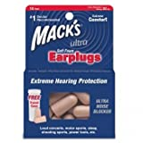 Mack's Ultra Foam Earplugs - 10 pair
