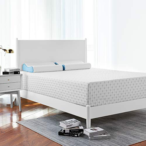 Queen Mattress, RUUF 12 Inch Unique Creative Foam Mattress, Ventilated Cool Design, Medium Firm Feel, 180-Day Trial and 10-Year Service