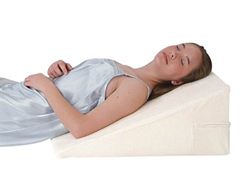 "Alex Orthopedic 12"" Comfortable All Memory Foam Bed Wedge"