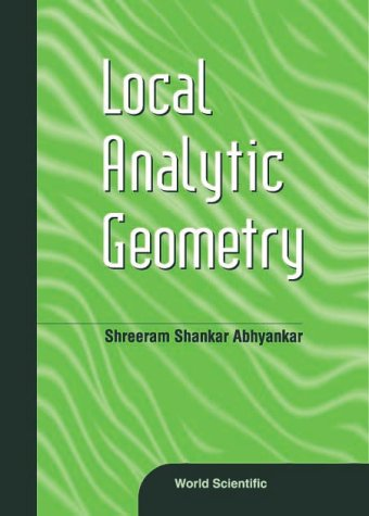 Local Analytic Geometry pdf epub