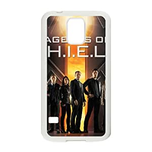 Samsung Galaxy S5 Cell Phone Case White s.h.i.e.l.d Pdlw