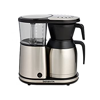 Image of Bonavita BV1900TS 8-Cup One-Touch Coffee Maker Featuring Thermal Carafe, Stainless Steel Home and Kitchen