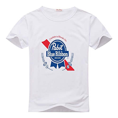 Used, Pabst Blue Ribbon Women's Custom Graphic Round Neck for sale  Delivered anywhere in USA