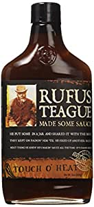 Rufus Teague Touch O' Heat Spicy BBQ Sauce 16 oz.