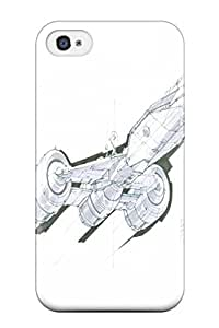 Iphone 4/4s Case Cover - Slim Fit Tpu Protector Shock Absorbent Case (star Wars Tv Show Entertainment)