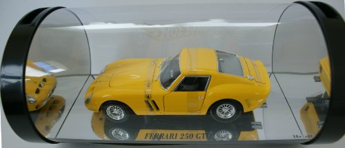 1962 Ferrari 250 GTO diecast model car 1:18 scale diecast by Hot Wheels - (1962 Ferrari 250 Gto)