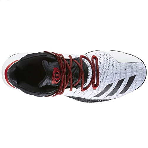 adidas Blanc da 7 D B72720 Uomo Primeknit Rose Basket Scarpe raBrqTPz
