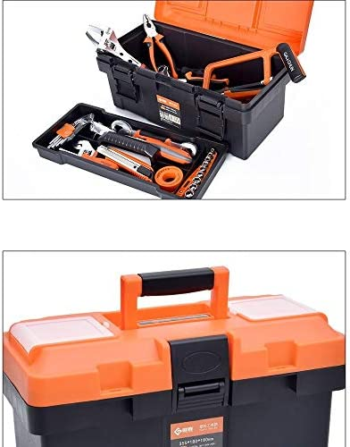 Tool Box Portable Hardware Tool Box Maintenance Tool Storage Box (Size : 17 inches)