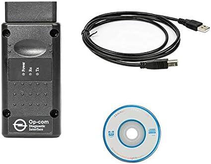 Pour Vauxhall Opel Outil De Diagnostic OBD2 Diagnostic OPCOM V1.99 Internet Sécurité