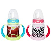 NUK Learner Cup Silicone Bundle Pack, Animal, 5 Ounce, 2 Count