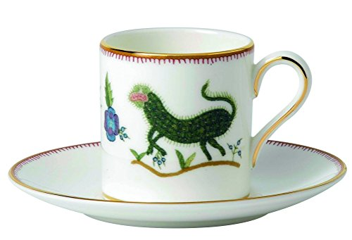 Wedgwood Espresso Cups - Wedgwood Mythical Creatures Espresso Cup and Saucer Set