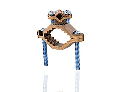 Heavy duty bronze ground clamp 1 14 2 water pipe size 8 40 heavy duty bronze ground clamp 1 14quot 2quot water keyboard keysfo Gallery