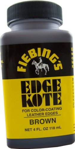fiebings-edge-kote-brown-4oz-for-color-coating-leather-edges-freezable
