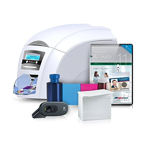 Magicard Enduro 3e Complete Photo ID Card Printer System with AlphaCard ID Suite Software - Duo Id Card Printer