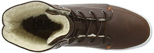 Vermont Women's Brown L30 002 Derbys Dark Hub Brown Braun White dwEqIcS