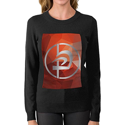FHREISWE Women's Krav Maga KMG Logo Round Neck Sweater Soft Pullover Top by FHREISWE