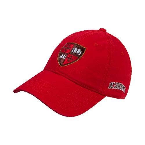 聖ローレンスレッドTwill Unstructured Low Profile帽子'公式Shield '   B00EVB9R2Q