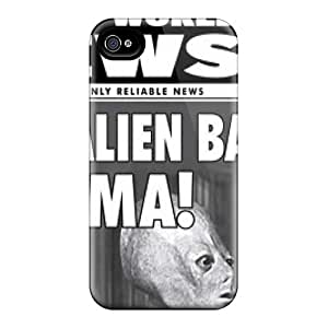 Fashionable TjA6592QGmi Iphone 6 Cases Covers For Obama And Alien Protective Cases