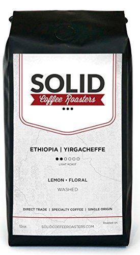 Symphony Gift Basket - Single Origin Ethiopia Yirgacheffe - 100% Ethiopian Whole Bean Arabica Coffee - Roast to Order By Solid