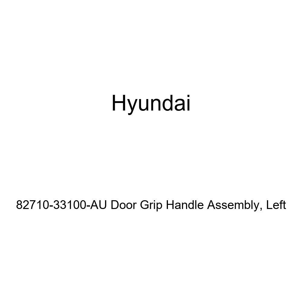 Left Genuine Hyundai 82710-33100-AU Door Grip Handle Assembly
