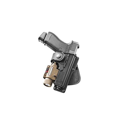 Fobus Holster de Glock 17avec emplacement pour lampe 1