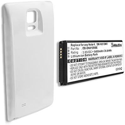Akku-King batería para Samsung Galaxy Note 4 SM-N910A, SM-N910W8 ...