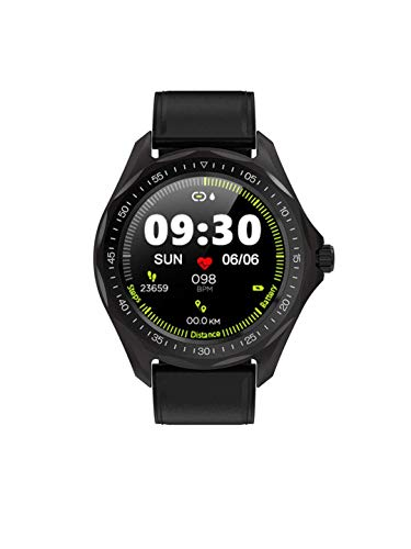 Opta Sb-186 Laetitia Bluetooth Fitness Watch All-in-One Activity Tracker Blood Pressure | Heart Rate with Full Touch Screen (Black)
