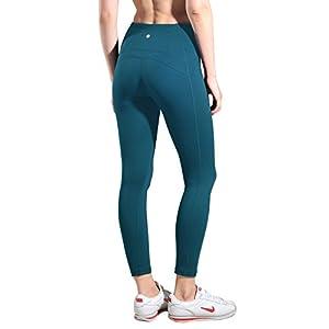 Queenie Ke Women Yoga Leggings Nine Pants Power Flex High Waist Gym Running Tights Size S Color Teal