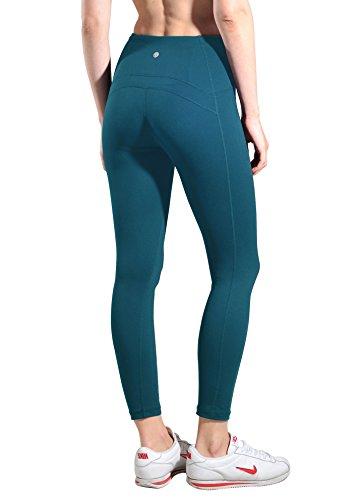 9774d07e388 Queenie Ke Women Yoga Leggings Nine Pants Power Flex High Waist Gym.