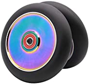 2Pcs 120mm Pro Scooter Wheels with ABEC 9 Bearings for MGP/Razor/Lucky Pro Scooters