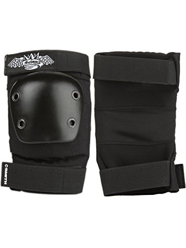 Smith Safety Gear Crown Park Elbow Pads, Black/Black, Large by Smith Safety Gear