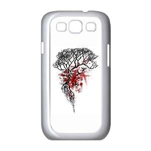 Samsung Galaxy S3 9300 Cell Phone Case White Skull Tree Kfybp