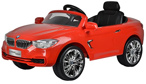 BRC Toys Best Ride On Cars BMW 4 Series Ride On 12V, Red