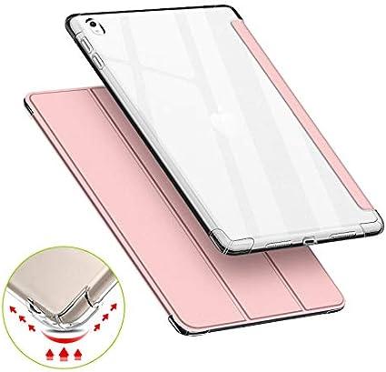 Violet Clair Smart Shell R/ésistant avec Veille//R/éveil Automatique Pro 10,5 Pouces 2017 Housse de Protection Antichoc VAGHVEO Coque pour iPad Air 3 2019 /Étui Arri/ère Souple et Transparent en TPU