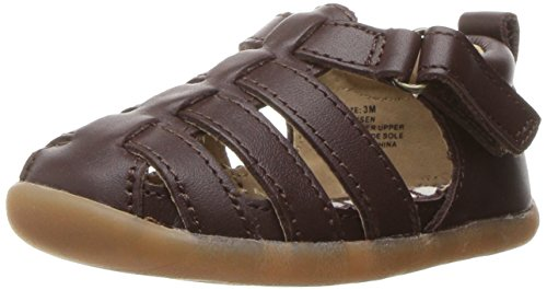 Toddler Fisherman Sandals (Hanna Andersson Eriksen Toddler Fisherman Sandal, Brown, 5 M US Toddler)