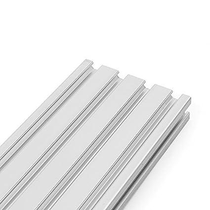 CWeep Cadre dextrusion de profils en Aluminium T 2080 /à rainure en T Longueur 200 mm